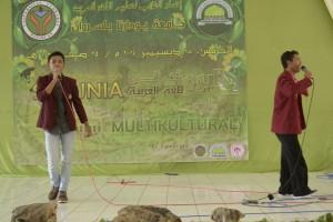 الغناء العربي من طالبا الجامعة  يودارتا بباسوروان